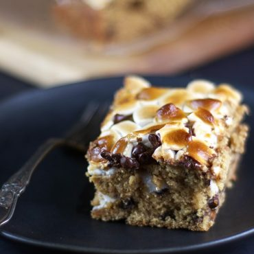 Gluten-Free Vegan Marshmallow, PB, Banana, Chocolate Chip Bread