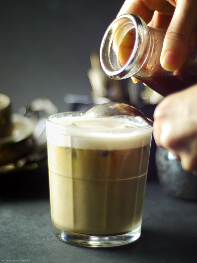 Pumpkin Spice Thai Iced Coffee {Dairy & Refined Sugar-Free}