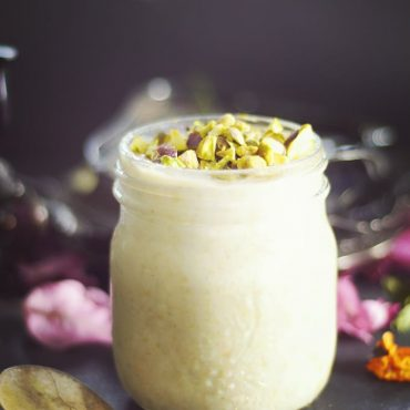 Raw Cherimoya Custard {Fruit-Sweetened & Free From: gluten & grains, starches, dairy, eggs, and refined sugars}