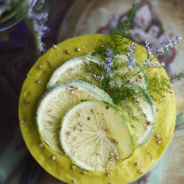 Raw Lemon Lime Cheesecake (Free From: gluten & grains, dairy, and refined sugar)