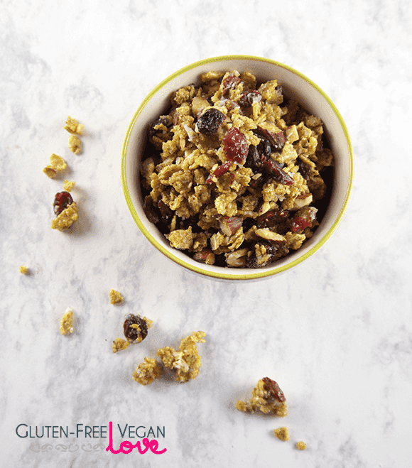 Cranberry Almond Oat-Free Granola