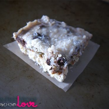 Vegan Gluten-Free Magic Bars | Gluten-Free Vegan Love