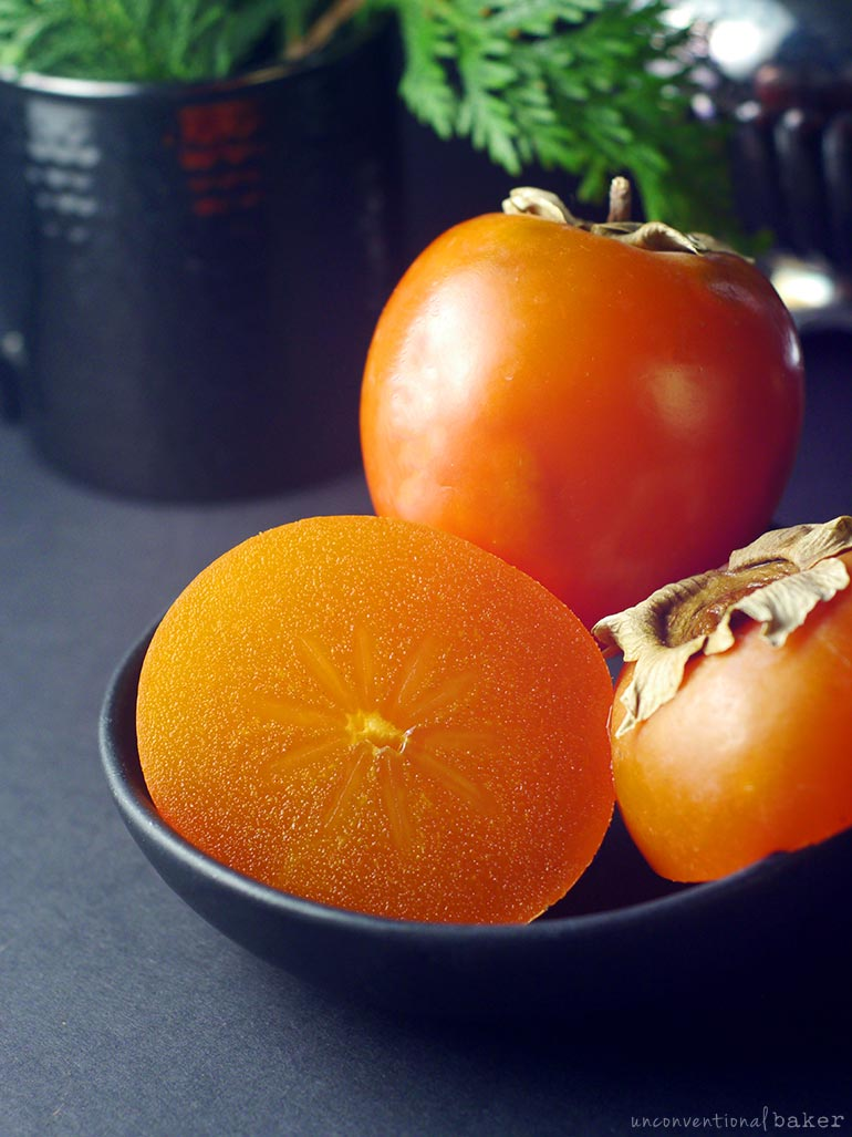 A guide to baking with Persimmons