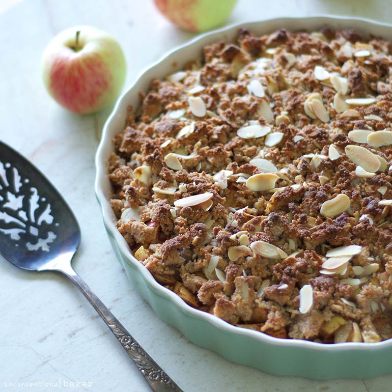vegan gluten-free apple crisp recipe