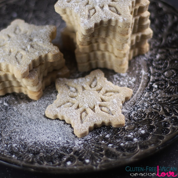 Gluten-Free Vegan Vanilla Cut-Out Cookies Recipe {Refined Sugar-Free}