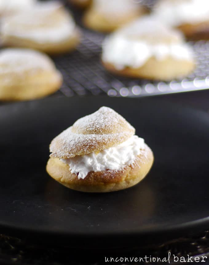 Gluten-Free Vegan Cream Puffs / Profiteroles {Refined Sugar-Free}