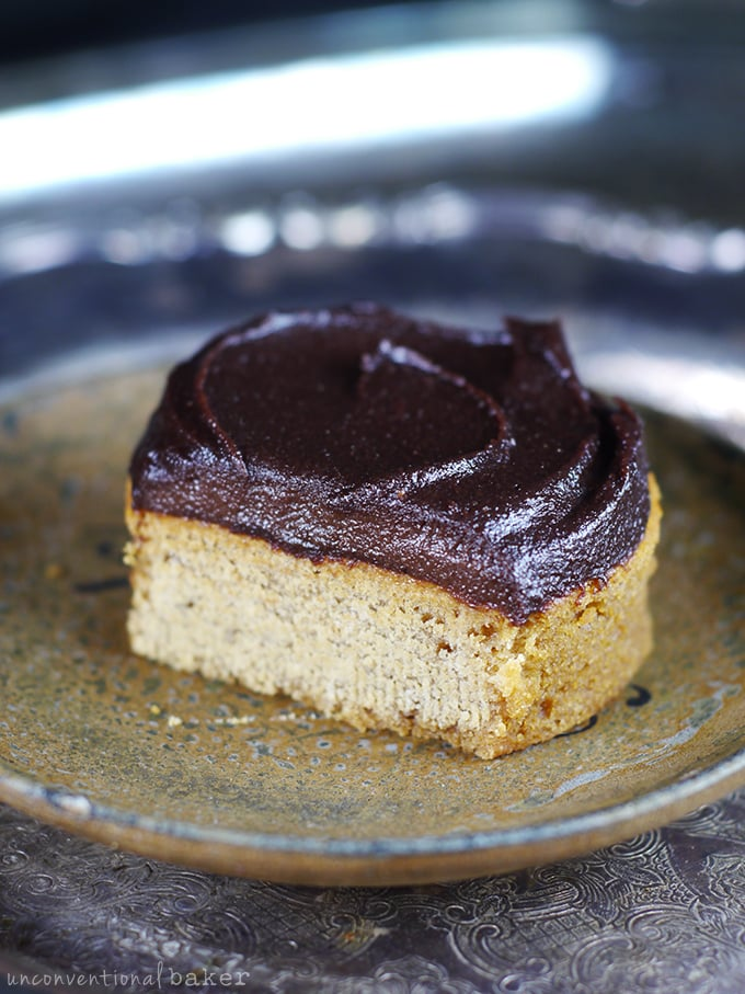 Nutella-Style Espresso Chocolate Hazelnut Cake Frosting or Spread {Dairy-Free, Refined Sugar-Free, and can be made Raw}