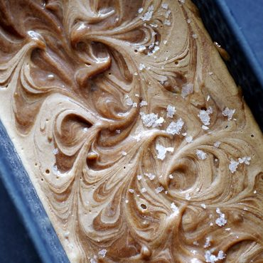 Caramel Swirl Ice Cream {No Churn, Raw, Dairy-Free & Refined Sugar-Free}