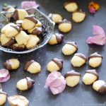 Autumn Acorn Cookies {Free from: gluten & grains, dairy, eggs, and refined sugars}