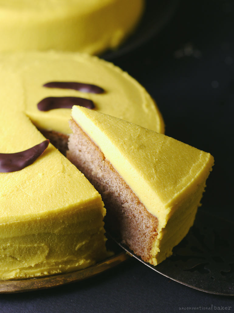Easy DIY Emoji Cake {Can be made free-from: dairy, gluten, grains, refined sugar, nuts, soy, oils...}