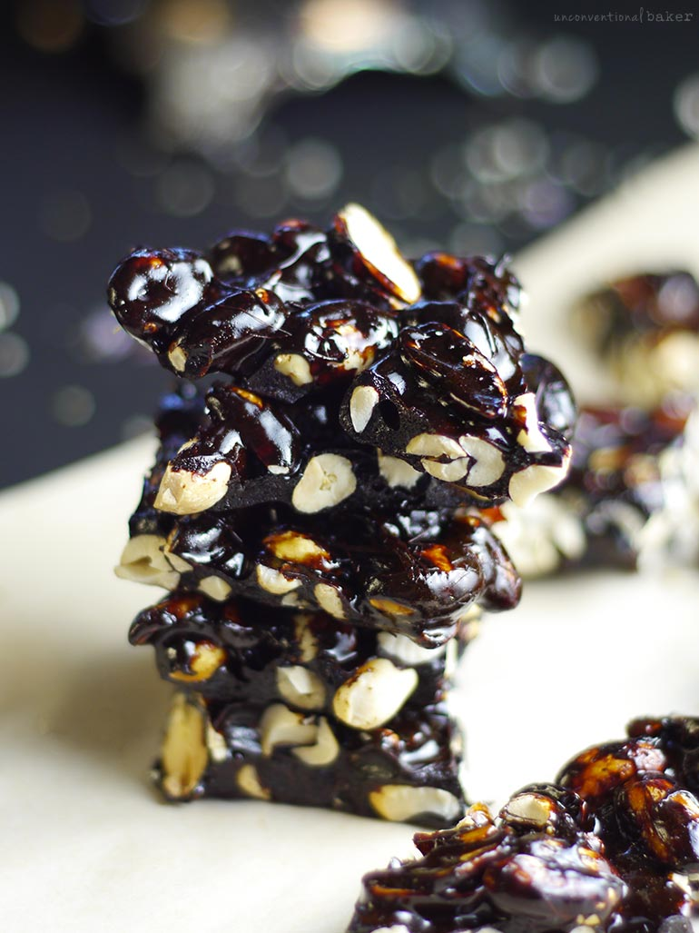 Coconut Sugar Peanut Brittle (Free From: Dairy, Gluten & Grains, Refined Sugar, and oil)
