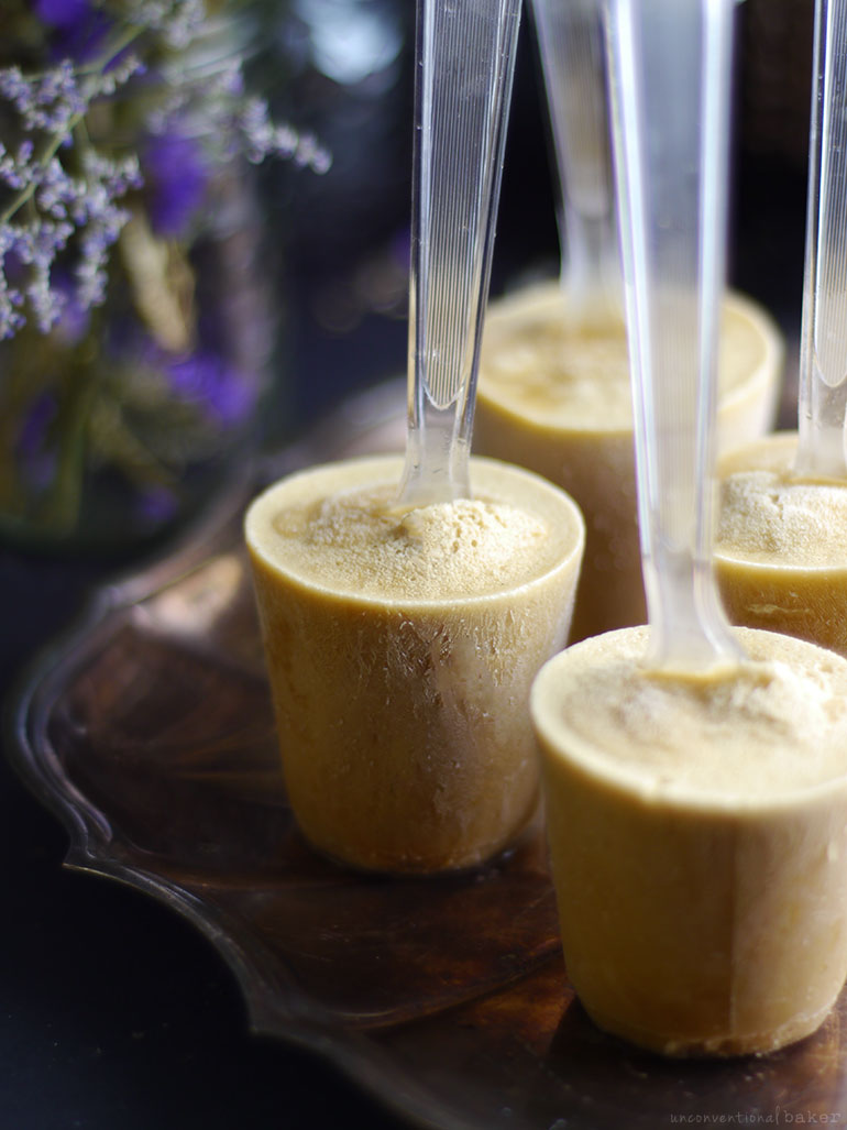 Simple Coconut Cardamom Pops (Raw, Dairy-Free, Refined Sugar-Free)