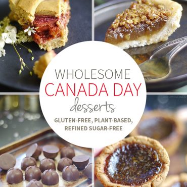 Wholesome Canada Day Desserts (Gluten-Free, Dairy-Free, Eggless, Refined Sugar-Free)