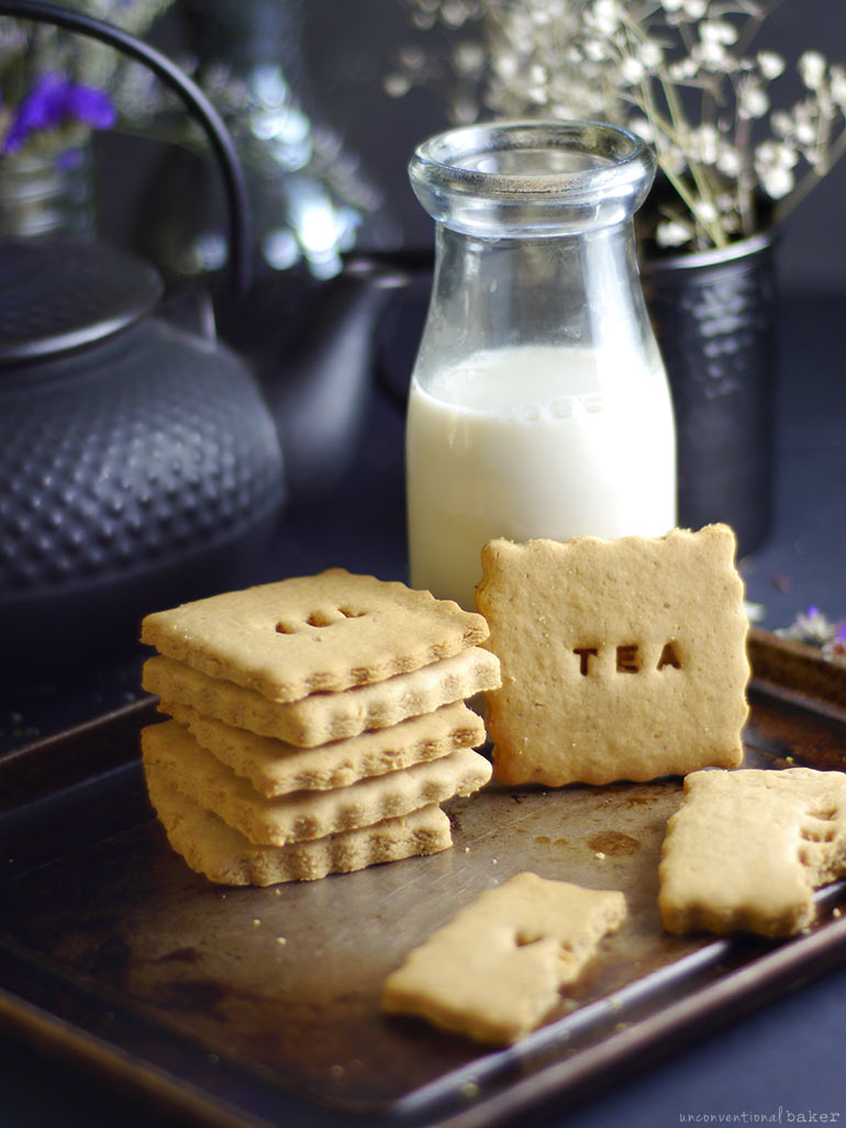 Cashew Butter Tea Biscuits (Free From: gluten, dairy, eggs, refined sugar, gums, and added oils)