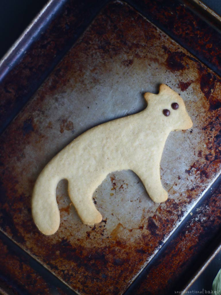 Ginger Fox Cookies (Free From: gluten, eggs, dairy, added oils, refined sugar)