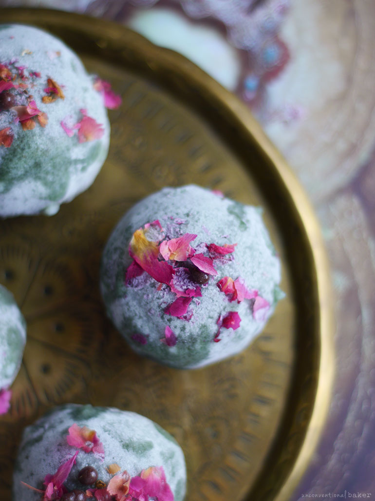 Jade Truffles (Raw & Free From: gluten and grains, dairy, nuts, and refined sugar)