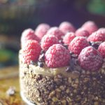 Raspberry Almond Fudge Cake (No-Bake & Free From: gluten & grains, dairy, refined sugar, and cashews)