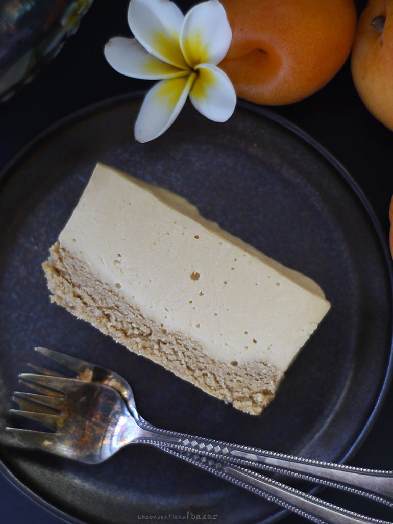 Apricot Slice (No-Bake & Free From: nuts, gluten, dairy, refined sugar)