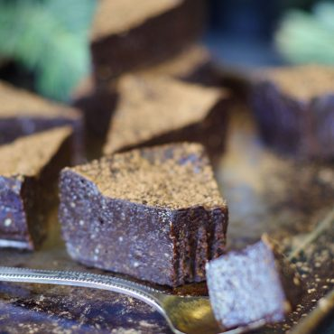 Simple Cashew Carob Fudge (Free From: gluten and grains, dairy, added oils, refined sugar)