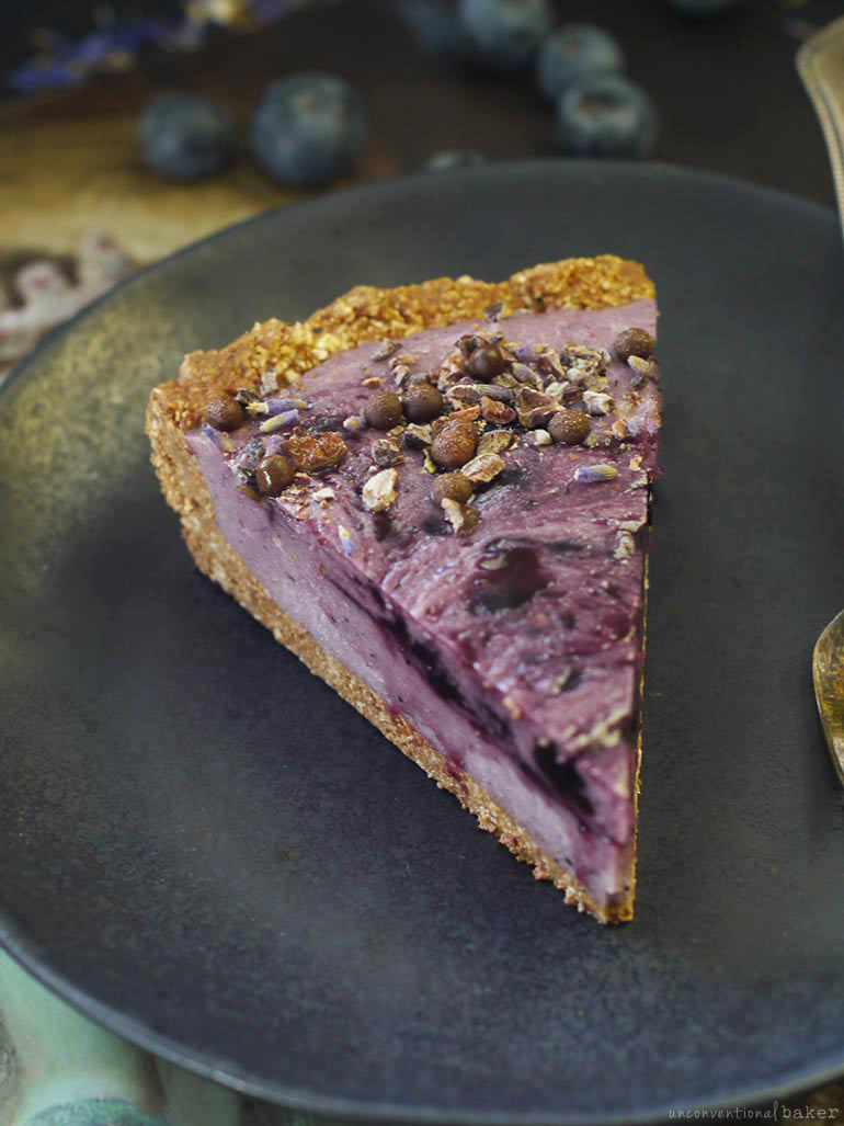 gluten-free vegan blueberry potato pie recipe