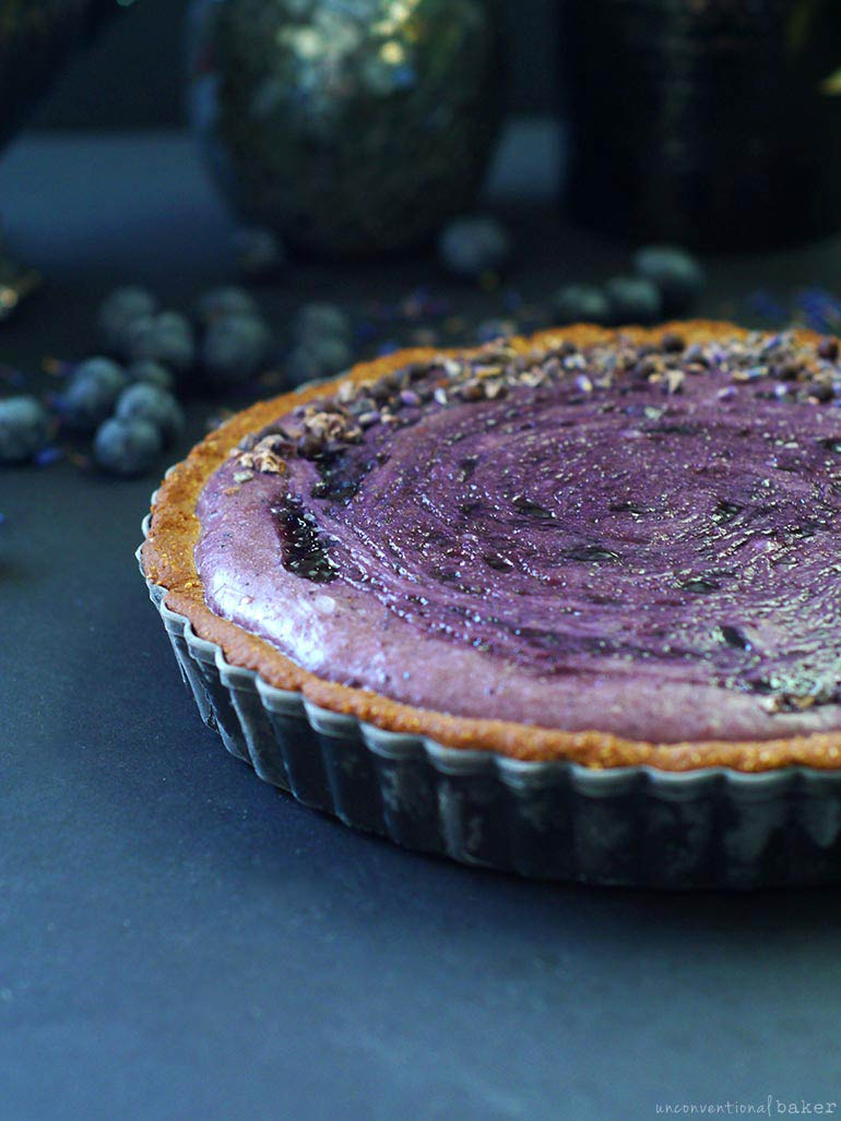 Blueberry Custard Pie Recipe