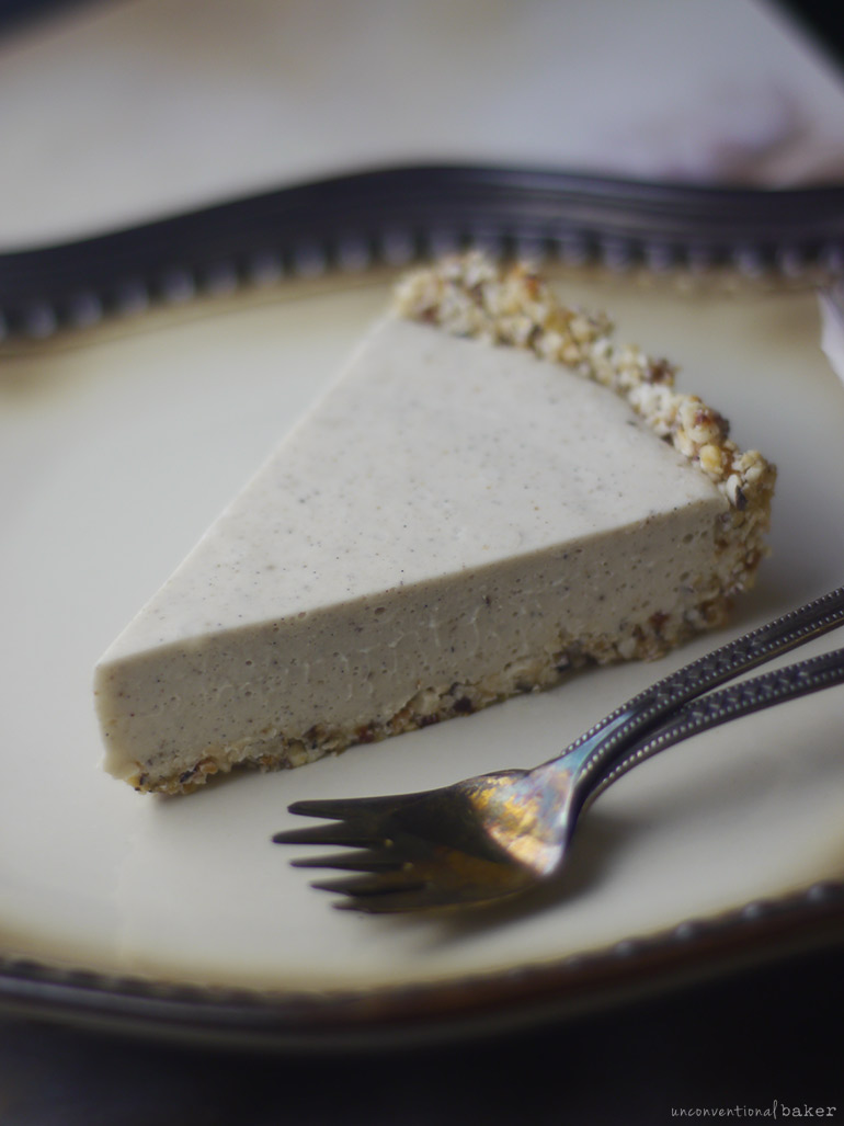 slice of gluten-free vegan coconut cream pie