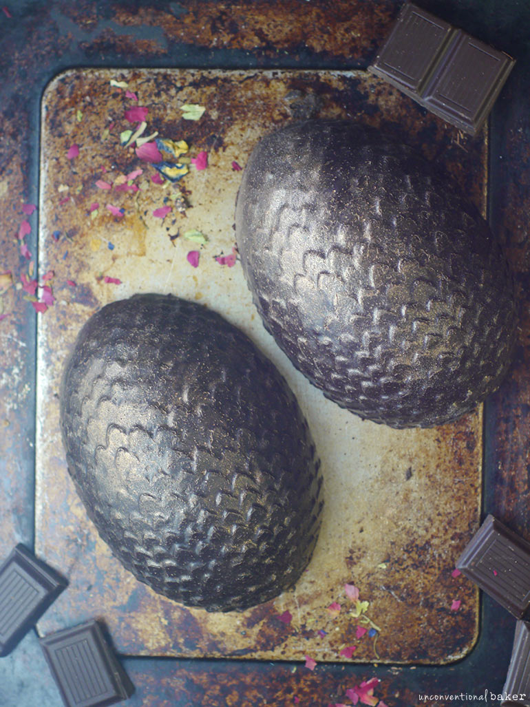vegan shimmery dragon eggs