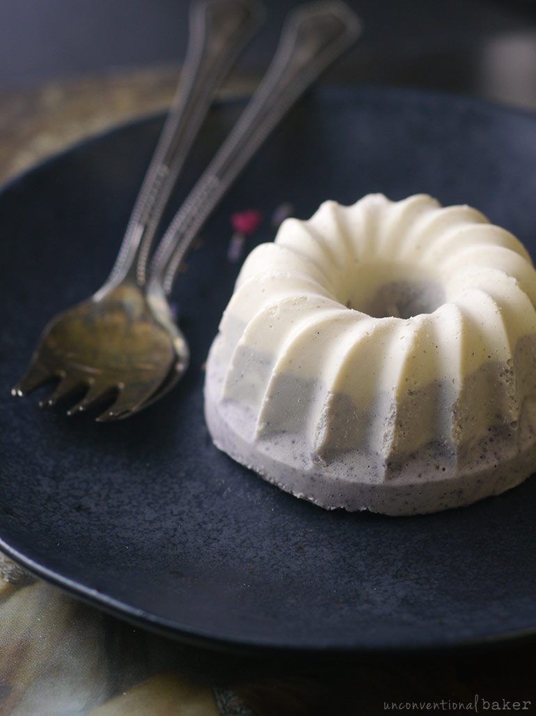 mini raw vegan white chocolate cake