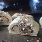 cashew poppyseed rolls -- gluten-free and vegan