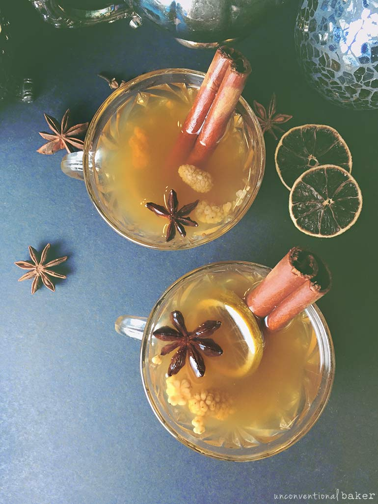 holiday hot apple cider