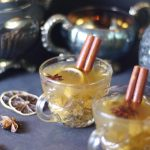 spiced hot apple cider