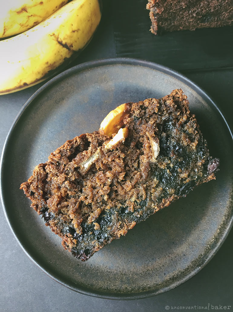 gluten-free vegan blueberry banana bread recipe
