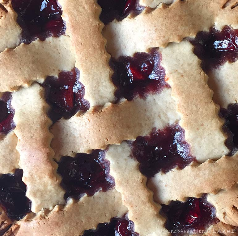 cherry pie -- vegan gluten-free