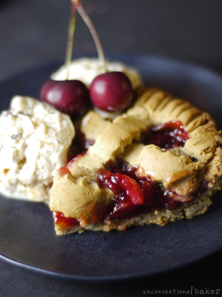 cherry pie -- vegan gluten-free recipe