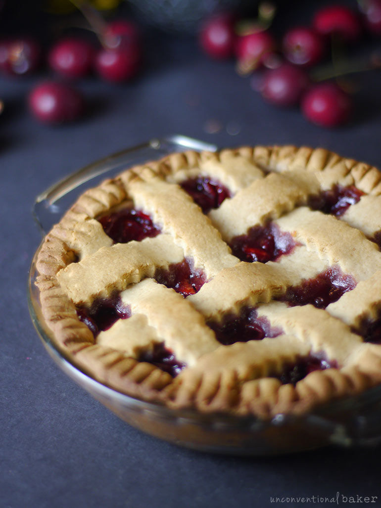 vegan gluten-free cherry pie recipe