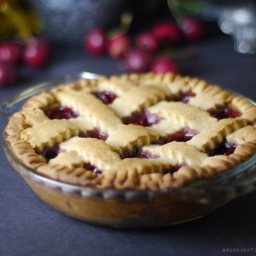 gluten-free vegan cherry pie