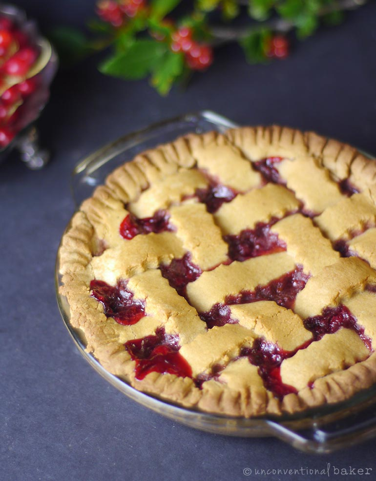 recipe for red currant pie