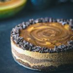 raw vegan chocolate papaya cheesecake recipe