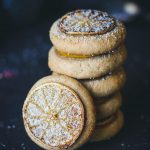 lemon almond cookies -- vegan and gluten-free