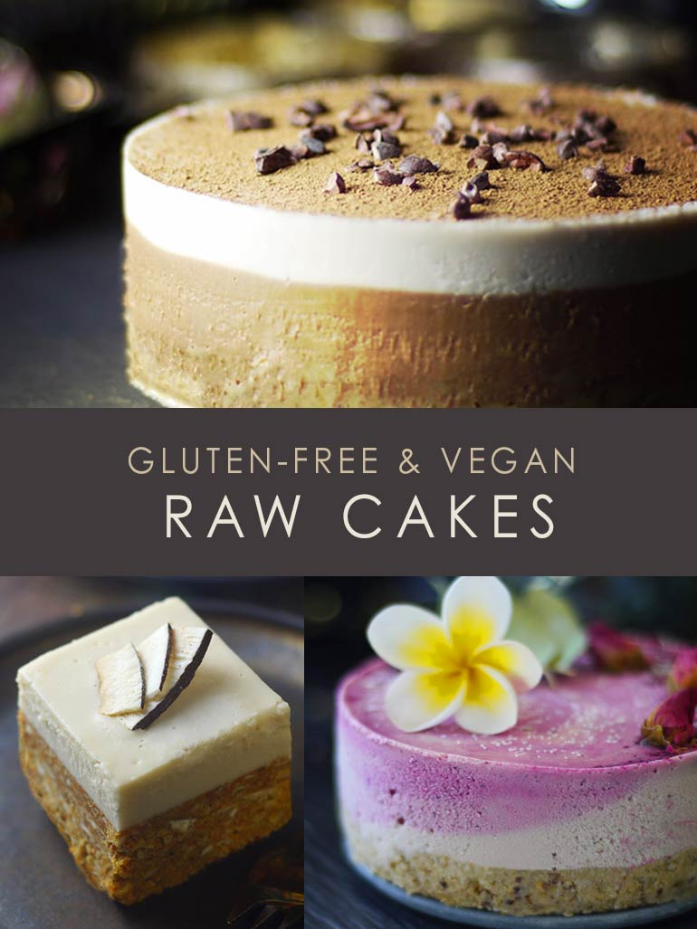 Awesome Elegantly Simple Raw Vegan Cakes Funny Birthday Cards Online Eattedamsfinfo