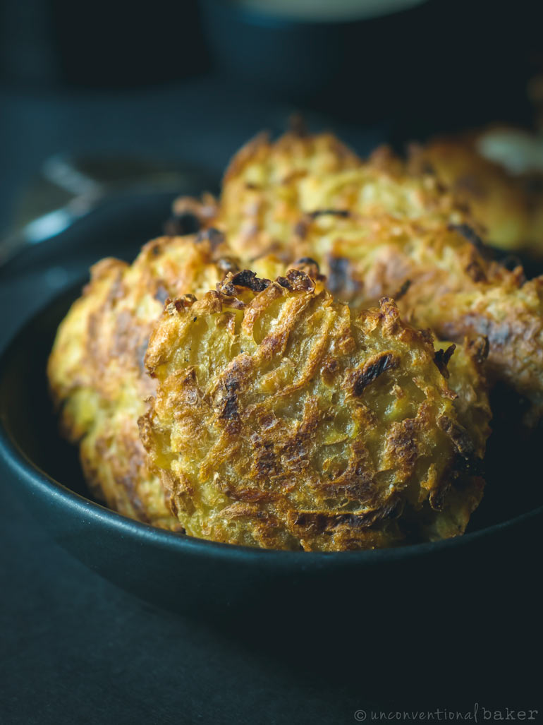 baked oil-free vegan hash browns